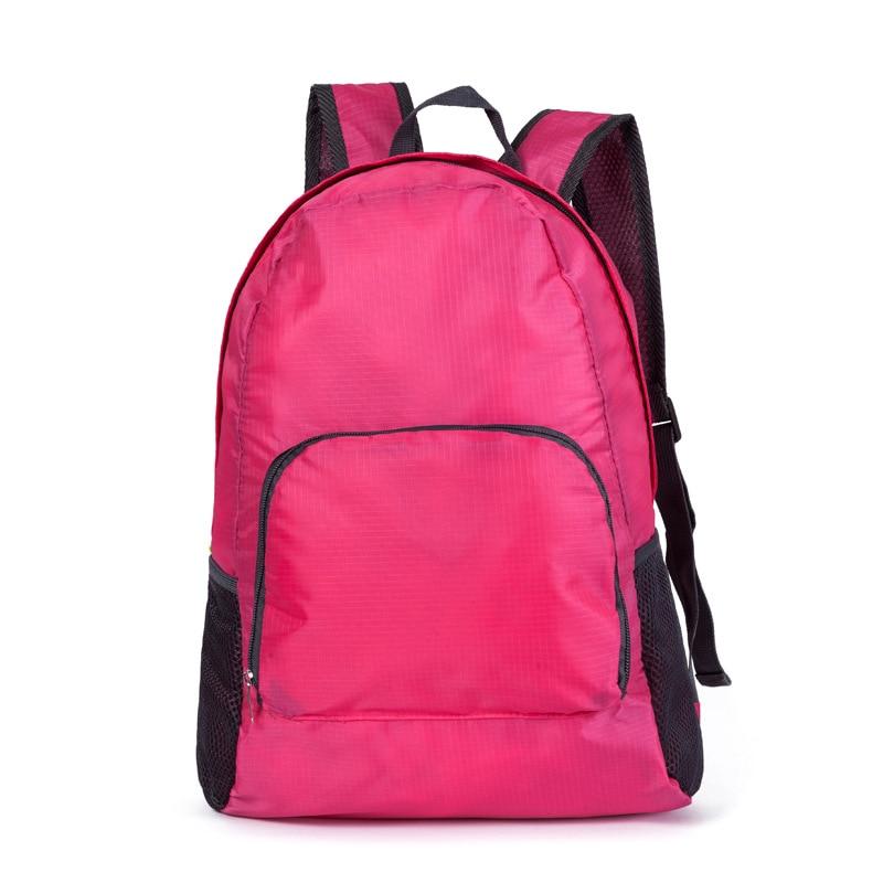 Folding Storage Shoulder Bag Unisex Waterproof Bag Luggage Portable Polyester Student Travel BackpackFolding Storage Shoulder Bag Unisex Waterproof Bag Luggage Portable Polyester Student Travel Backpack