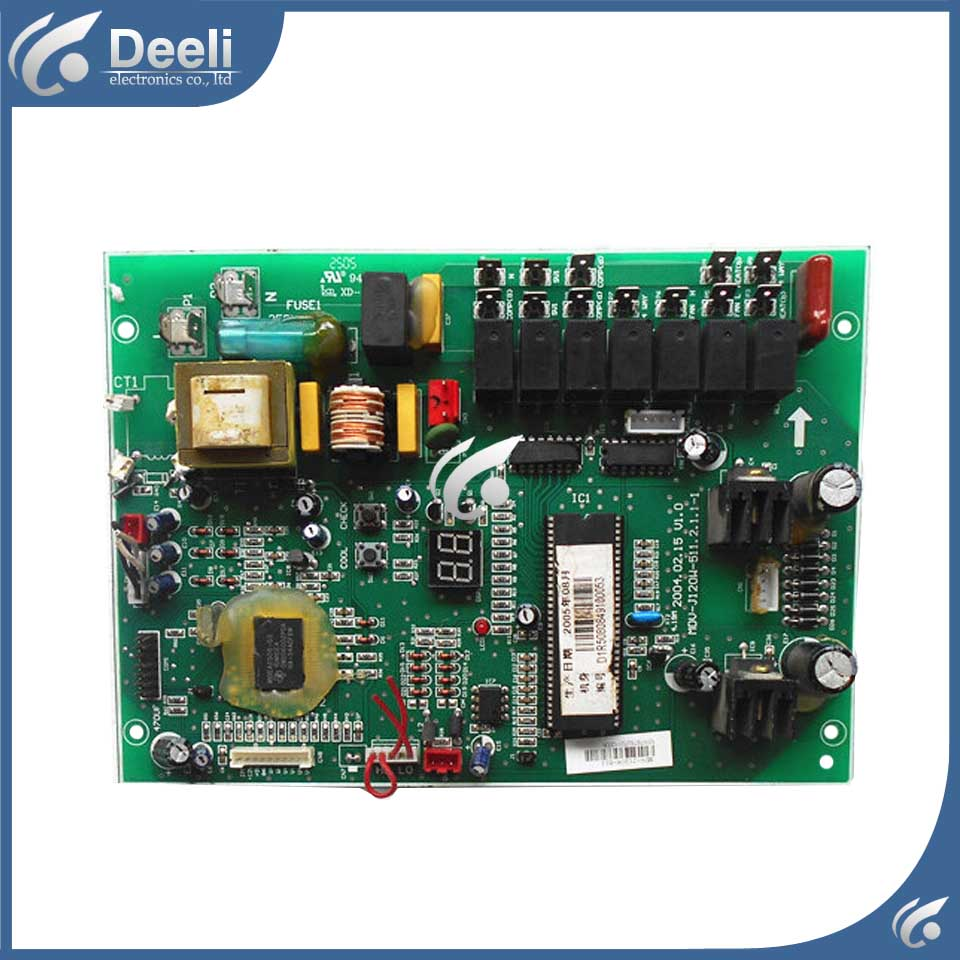 95% new good working for air conditioning MDV-J120W-511.2.1.1-1 pc board control used board  95% new good working for midea air conditioning computer board mdv d22t2 d 1 4 1 mdv d22t2 board