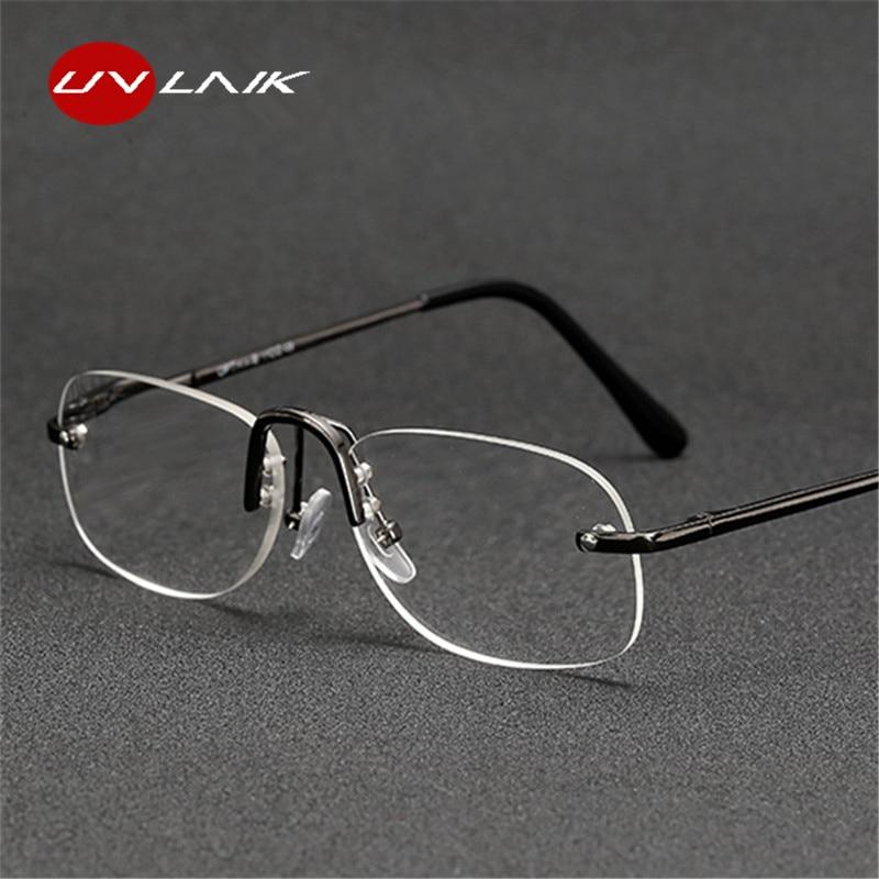 69fe668e89e2 Clear Men Women Reading Glasses Presbyopic Frameless - Inspirational ...
