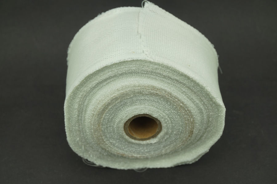 50mm Plain Weave Fiberglass Cloth Tape E-Glass wide Fiber 5 rolls
