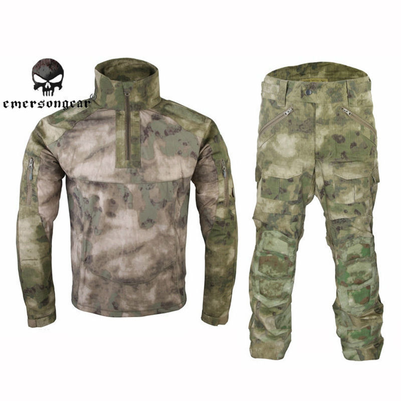 Men Military Hunting Combat BDU Uniform All-Weather Tactical Garment Suit Airsoft Gear Paintball Army Hunting Shooting Clothing