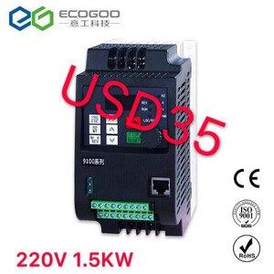 Image 1 - 220 кВт/кВт в VFD однофазный вход и 3 фазный выходной преобразователь частоты/регулируемый привод скорости/преобразователь частоты