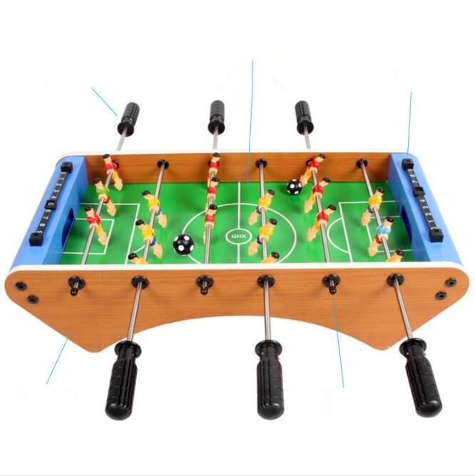 Jeu de Football de Table en bois jouets pour adulte Mini Air Hockey jeu Durable intérieur extérieur jeu de Table pour adolescents adultes - 2