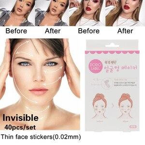 40 pieces / set of V-shaped facial lifti