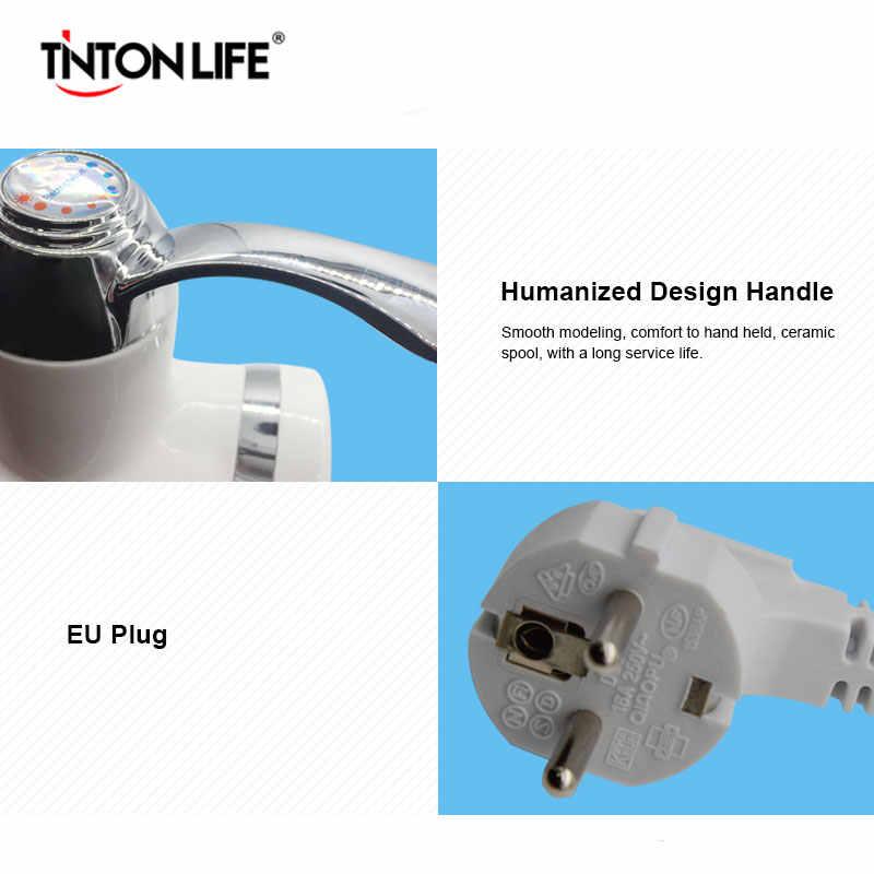 Tinton Leven Elektrische Boiler Eu Plug Led Digitale Temperatuur Display Met 360 Graden Draaien Pijp
