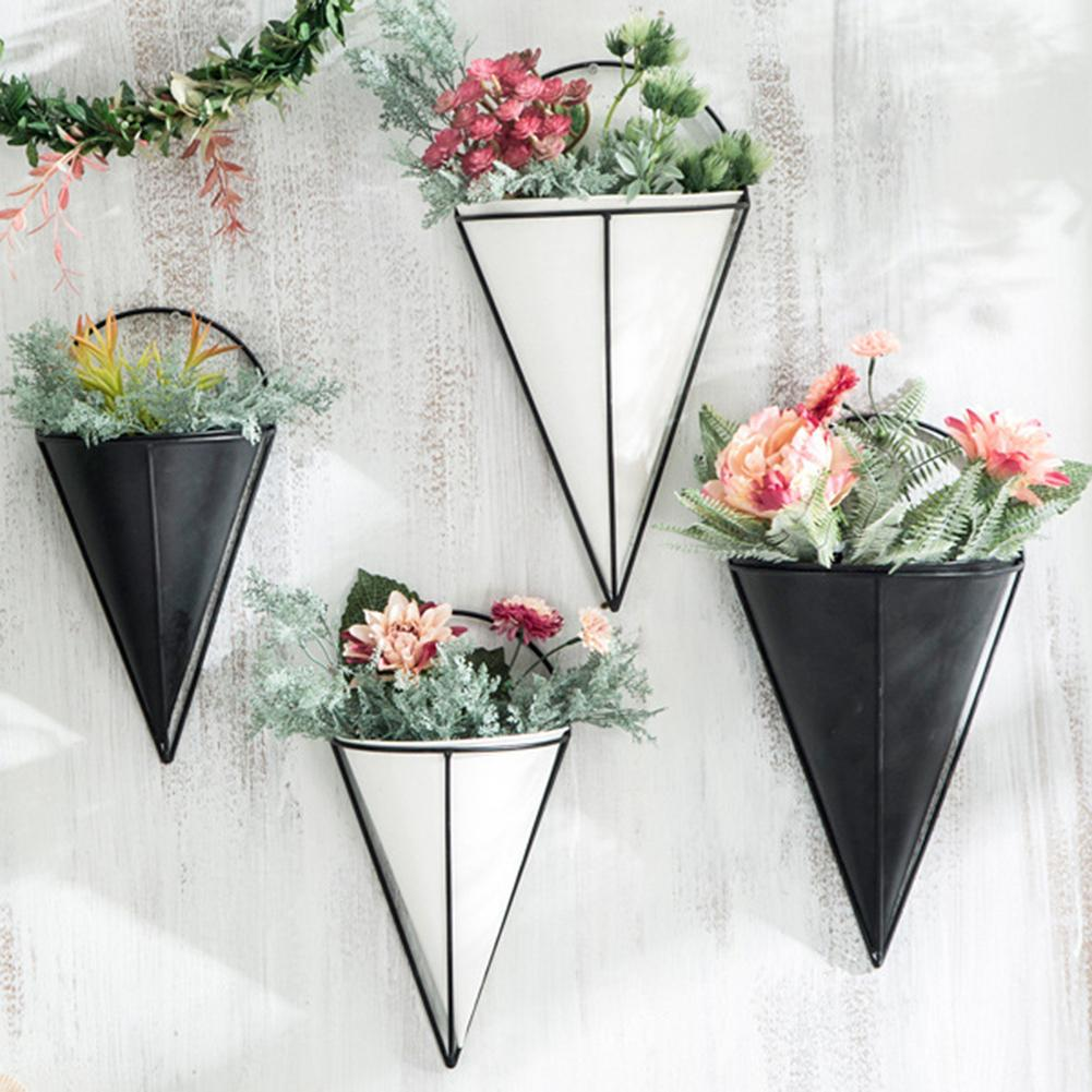 Innovative Semicircular Cone Shaped Succulent Plant ... on Decorative Wall Sconces For Flowers Arrangements id=90880