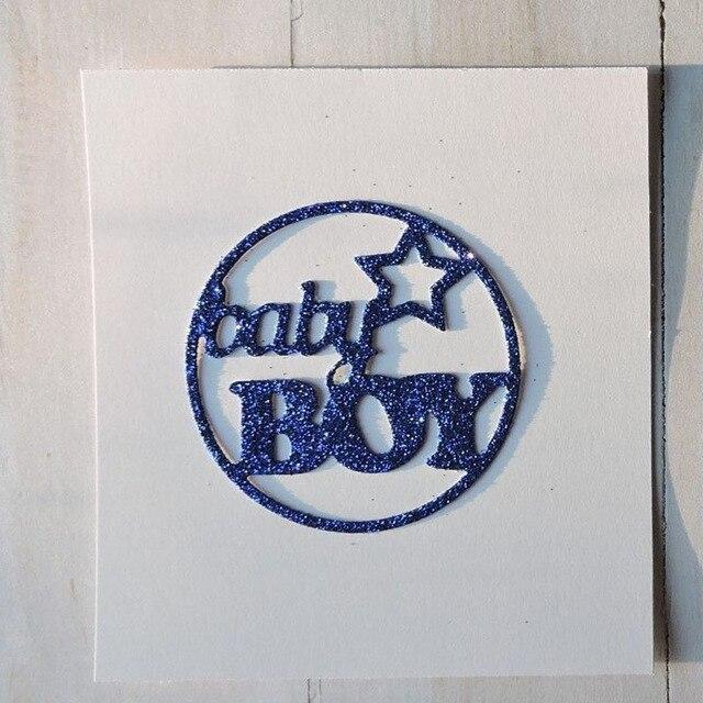 Metal Cutting dies baby boy Stencil Cut Practice Hands on DIY
