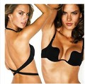 SMTHMA Brand Design Victoria Style New Fashion Deep V Low Cut Women Sexy Push Up Bra Backless Invisible Convertible Seamless Bra