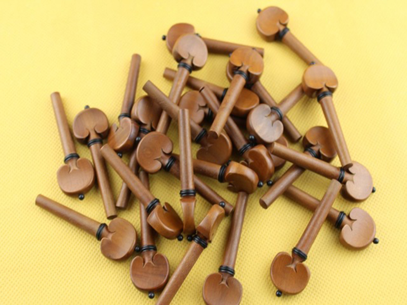 20 Pcs High Quality Viola Pegs Jujube Wood Viola Tuning Pegs Accessories