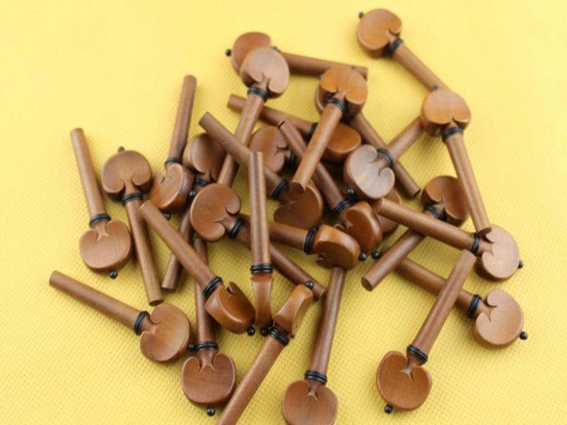 20 Pcs High Quality Viola Pegs Jujube Wood Viola Tuning Pegs Accessories