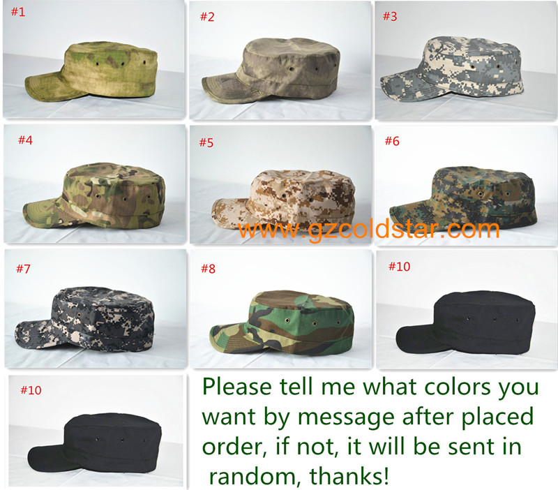 ①11 colores Al Aire Libre Camo Bosque Sólido Ejército GI Lavado ...