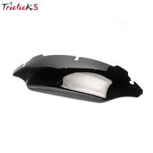 """Triclicks """" Мотоцикл Ветер щит дефлекторы ветер экран волна ветер экран лобовое стекло для Harley Street Electra Glide FL 14-16"""