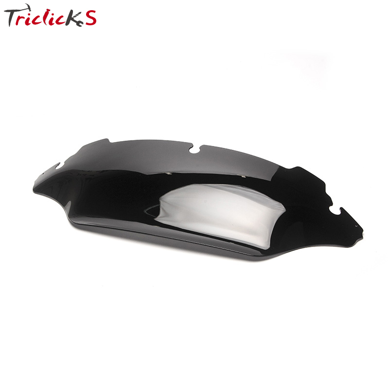 Automobiles & Motorcycles Energetic Triclicks Motorcycle 8 Wave Windshield Windscreen Wind Shield For Harley Touring Street Glide Electra Glide Ultra Classic 96-13 Frames & Fittings