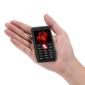 5mm Super Slim Original Single Card Mini Outdoor Mobile Phone Shockproof MP3 MP4 FM BT Russian Keyboard Cell Phone
