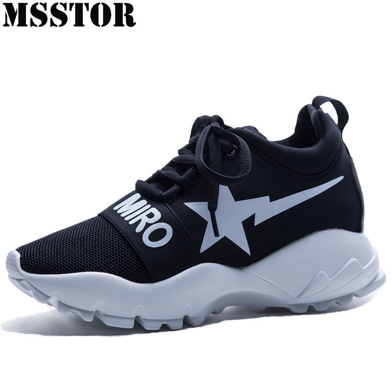 MSSTOR Womens Running Shoes Outdoor Athletic Sports Run Woman Brand Breathable Sport Shoes For Women Walking Womens Sneakers peak sport men outdoor bas basketball shoes medium cut breathable comfortable revolve tech sneakers athletic training boots