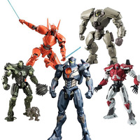 Apaffa 1 Pcs Pacific Rim PVC Model Action Figure Toys Pacific Rim 2 Jaeger Pacific Rim Neca Collecitble Model Toys For Grownups
