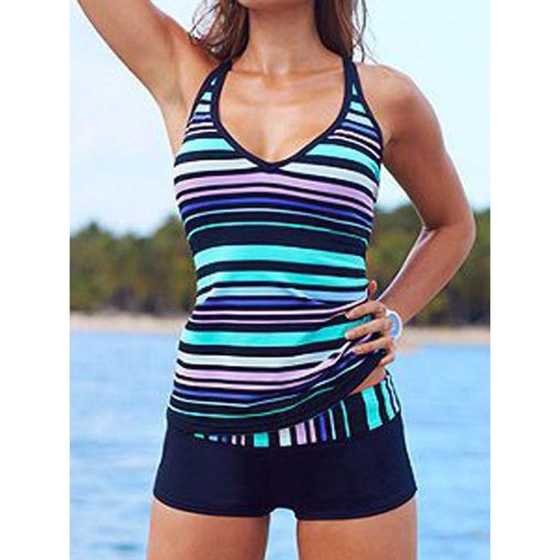 Boyleg Swimwear Plus Size