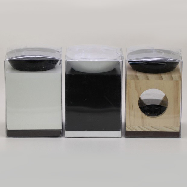 Classic Ceramic Wood Aromatherapy Oil Burner Home Fragrance Burner ...