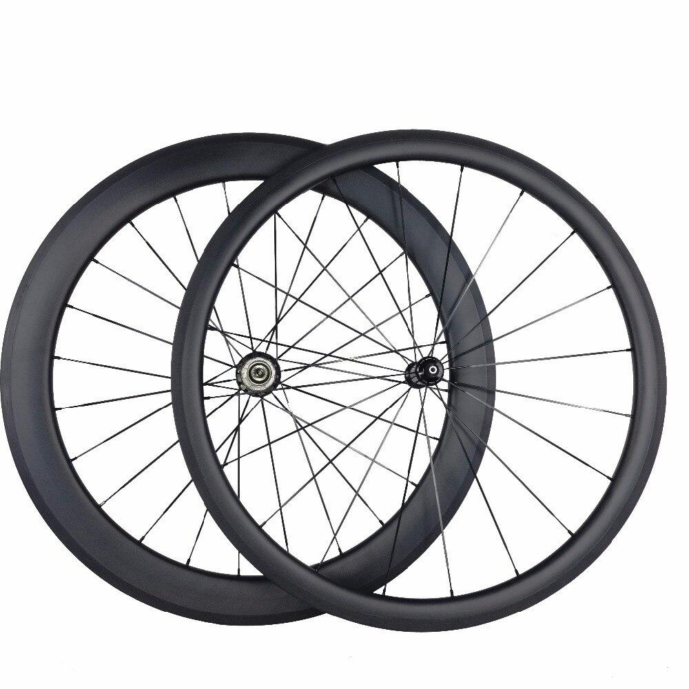 Roues en carbone 700C roues de vélo de route en carbone pneu 38mm 60mm roues en carbone de vélo de route