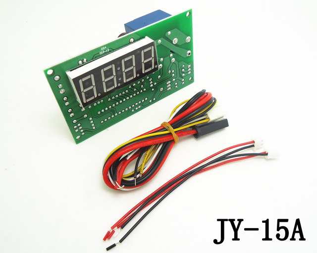plastic front plate coin operated multi coin selector acceptor with JY-15A 4digits timer board for cafe kiosk ,washing machine