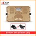 Frecuencia Global! Doble banda LTE 800/1800 mhz velocidad 2g 4g amplificador de señal móvil Inteligente 4g repetidor amplificador Único dispositivo + adaptador