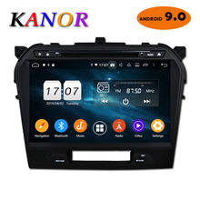 "KANOR 10.1"" Android 9.0 Octa Core 4+32g 2din Car Radio For Suzuki Grand Vitara 2015 2016 In Dash Double din GPS Navigator system"