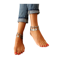 Luxury Fashion Bohemian Retro Style Coin Bracelet Anklet Belly Dance Accessories Belly Dance Accessories Dance Indian
