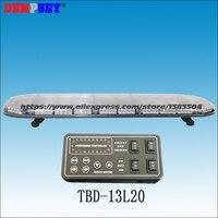 TBD 13L20 LED warning lightbar 49, engineering/emergency/police light,DC12V/24V Car Roof Flash Strobe lightbar