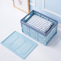 Collapsible Foldable Storage Box for Closet Home Car Travel Space Saving Organizers Hogard