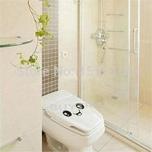 Beautiful Home Decor Wall Stricker Smiling Face Bathroom Toilet Sticker Cute Cartoon Decal