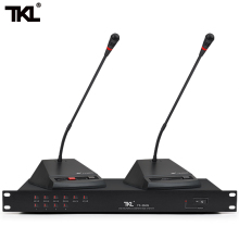 TKL YX-350M Wired Digital Conference System Microphone Meeting room Gooseneck mic high end uhf 8x50 channel goose neck desk wireless conference microphones system for meeting room