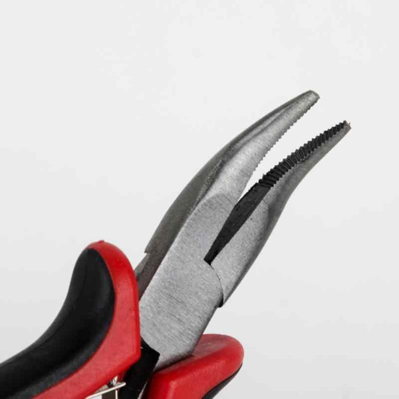 1 комплект, профессиональное средство для наращивания волос, набор Плоскогубцев + крючок для вязания крючком + крючок с деревянной петлей для волос
