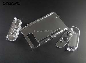 Image 1 - OCGAME Crystal Transparent Clear Protective Hard Case Cover Skin Shell for Nintend Nintendo Switch NS NX Joy con Console