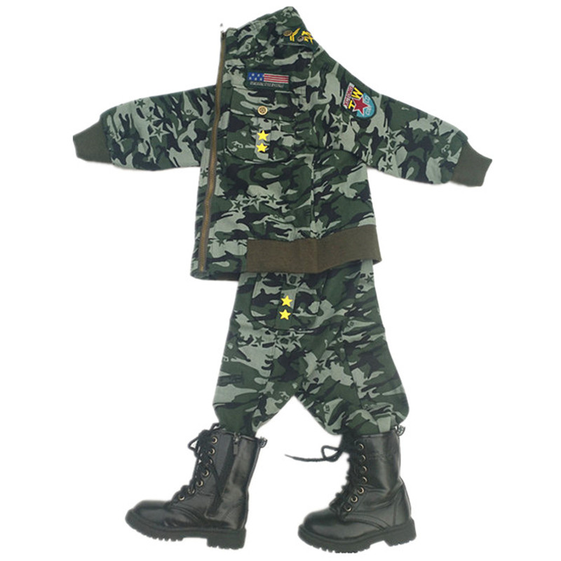children cosplay military uniform suit military clothes for children kids military clothing game cosplay funny costumes