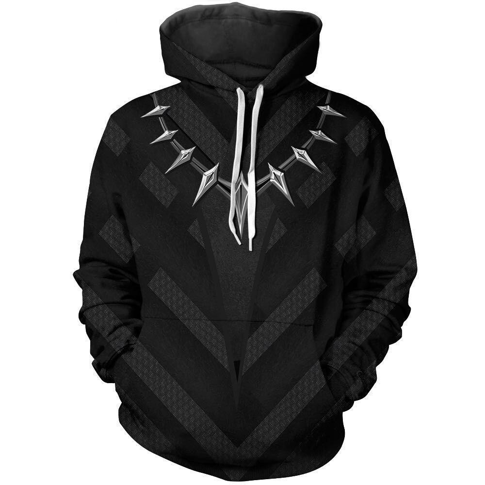 Avengers 3 Infinity War Black P  men 3d print Hoodies Streetwear Casual Cospaly Sweatshirt