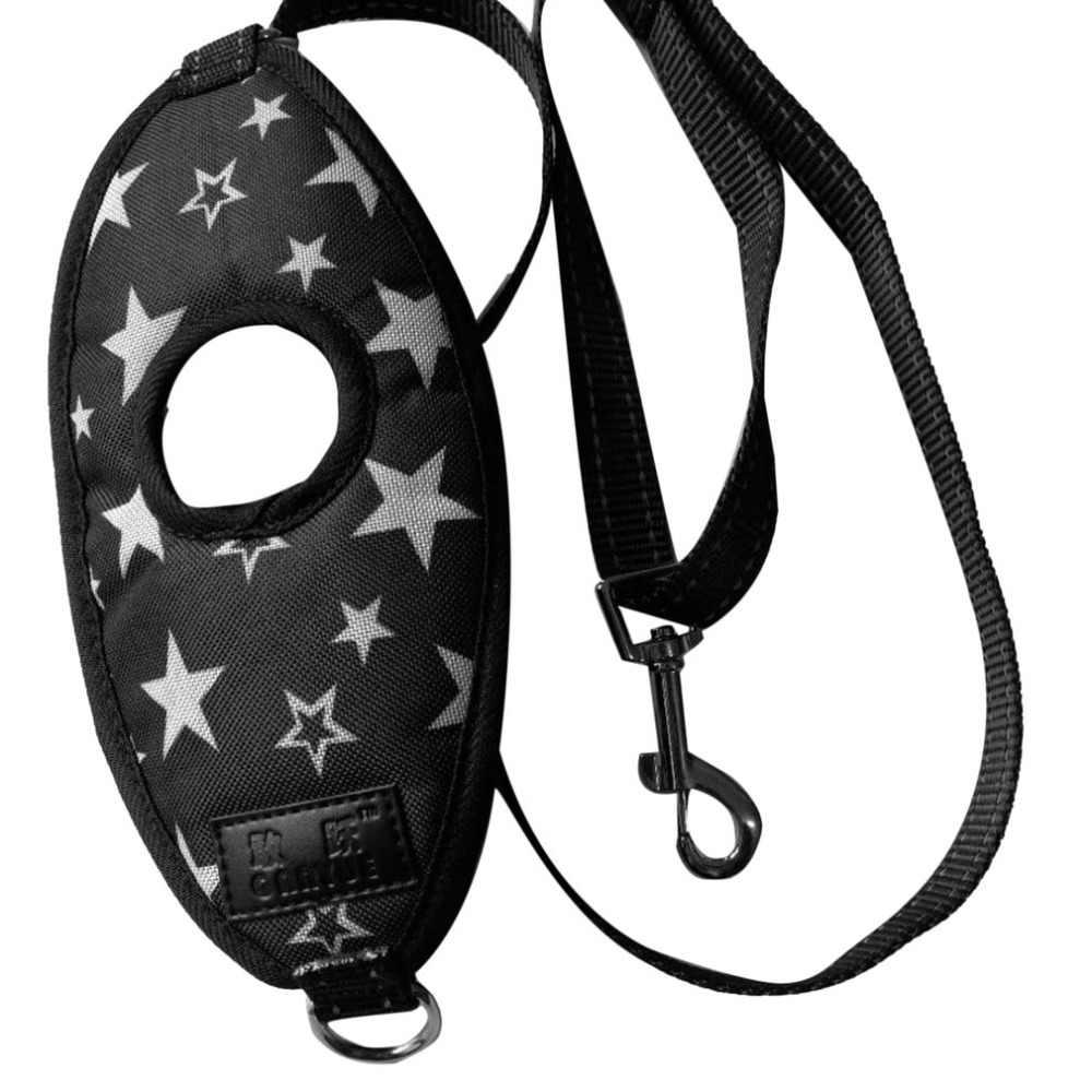 قفازات واقية لليد الكلب المقود لتشغيل القيام بنزهات طويلة سيرًا على الأقدام العالمي بنجي الكلب المقود قابل للتعديل حبل حزام مع شريط عاكس