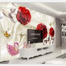 beibehang Wallpaper mural custom home decor living room bedroom 3d stereo abstra