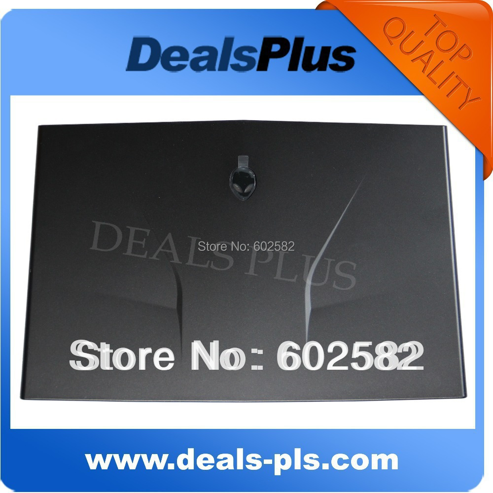 GENUINE FOR DELL ALIENWARE M14X LID LCD Back Cover CNT97 0CNT97 Black Grade A Free Shipping