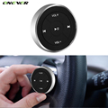 Wireless Bluetooth Media Remote Steering Wheel Remote Mobile MP3 Music Play for Car Motorcycle Bike Control Car-styling Kit