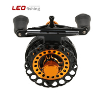 LEO Fishing Reels 7 BB Ball Bearing 2.8:1 Gear Ratio Raft Right Left Hand Ice Fish Wheel with Storage Pouch 2018 New Pesca