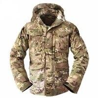 Men Tactical Militar Clothing US Army M65 Jacket, Multicam Jaqueta Masculina Inverno Jaqueta Masculino, Men's Windbreakers