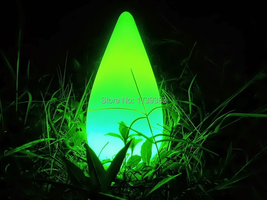 Energy saving LED Teardrop Rocket lamp led night light colorful remote control rechargeable LED Water Drop lamp indoor outdoor in LED Night Lights from Lights Lighting