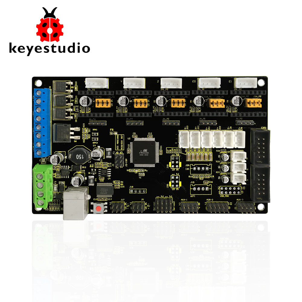 Free shipping!MKS GEN V1.2 Controller Board  for 3 D Printer