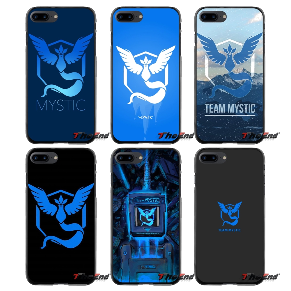 For Apple iPhone 4 4S 5 5S 5C SE 6 6S 7 8 Plus X iPod Touch 4 5 6 fashion Pokemons Go Team Mystic Accessories Phone Shell Covers