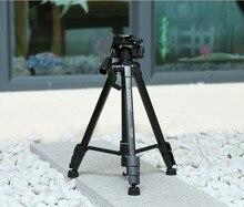 Nova yunteng vct-668 668 fotografia profissional camera pro tripé com amortecimento cabeça pan fluid para câmera canon nikon sony dslr