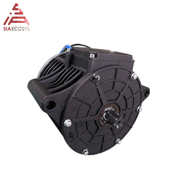 QS 138 3kW 72V100KPH Mid drive motor with new appearance sprocket design