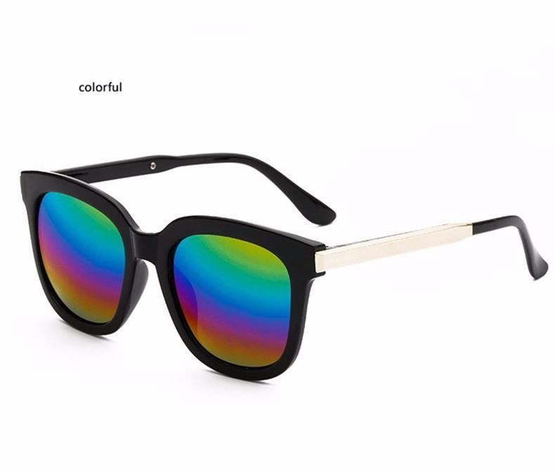 High Quality Couple Square Sunglasses Women Brand Designer Vintage Retro sun glasses for women Men Sunglass Mirror Lunette Femme (13)