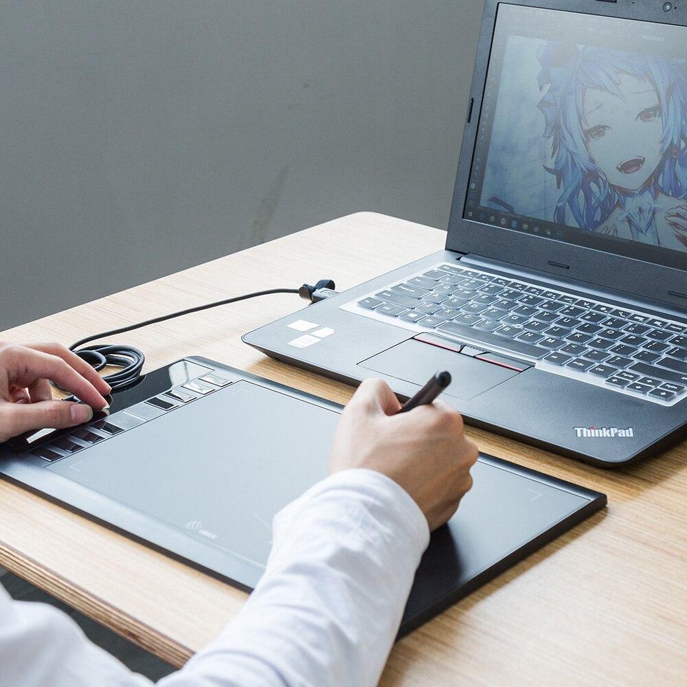 Ugee M708 Numérique Tablette Graphique pour Dessin