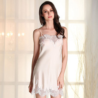 New Arrival 2016 Summer Style Nightgowns Free Shipping Suspenders Lace Sleepwear For Women High Quality Mini Nightwear Hot Sexy