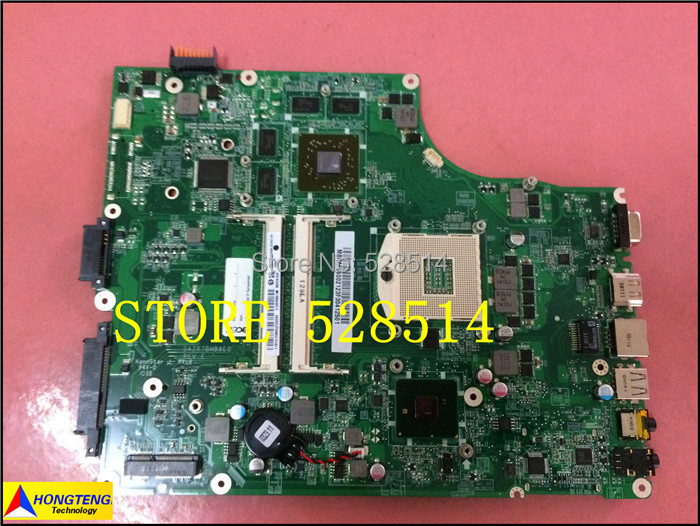 Original LAPTOP MOTHERBOARD FOR ACER ASPIRE 5820T 5820 MAINBOARD MBRAF06002 DAZR7MB8E0 100% Test ok